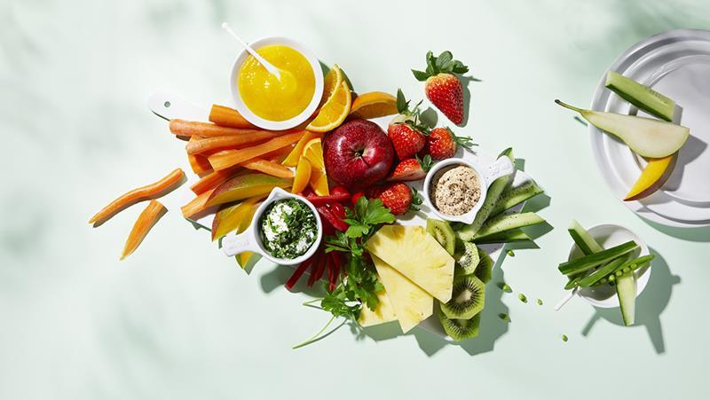 Oppskrifter med Frukt og Grønt