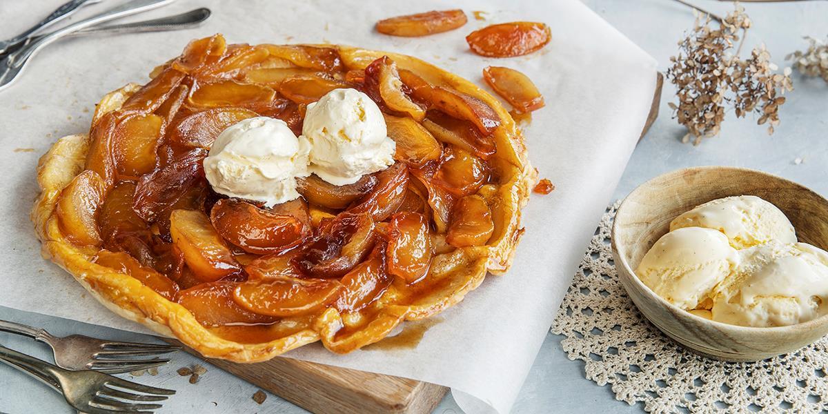 enkel fransk dessert