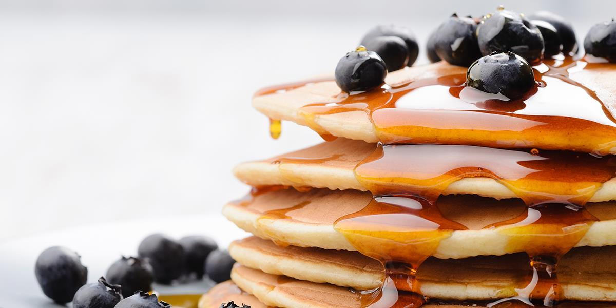 Amerikanske pannekaker uten egg