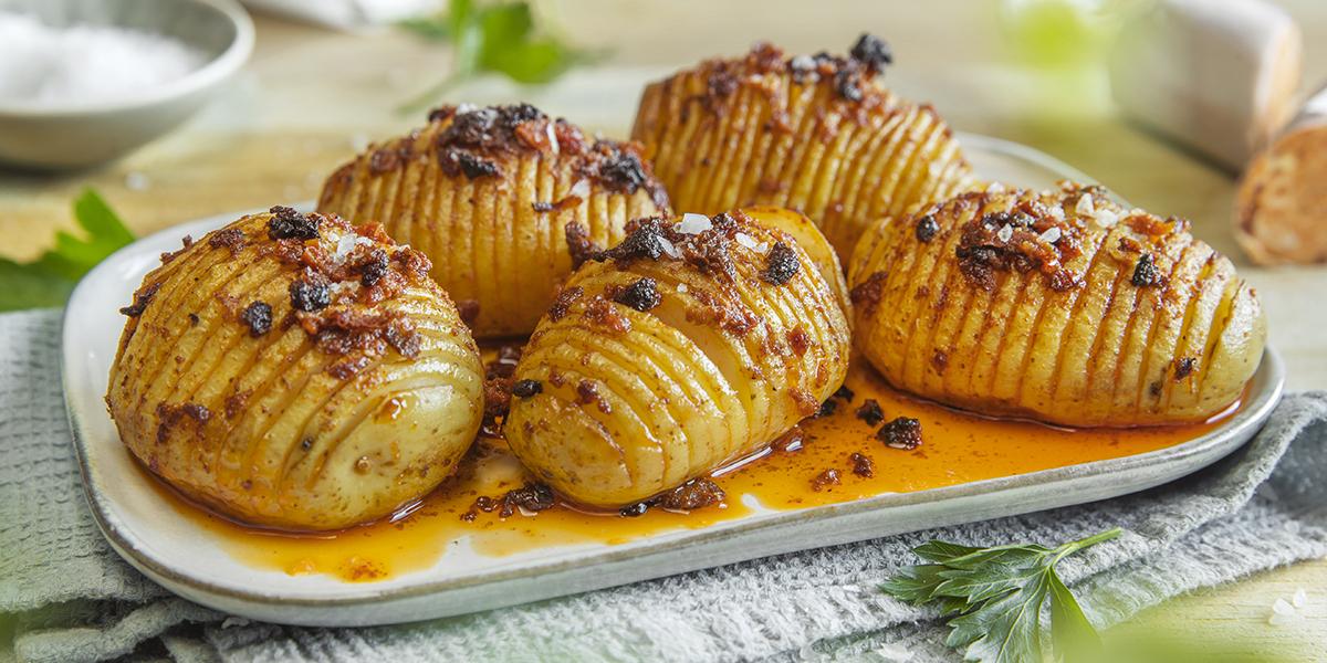 hasselbakte poteter oppskrift