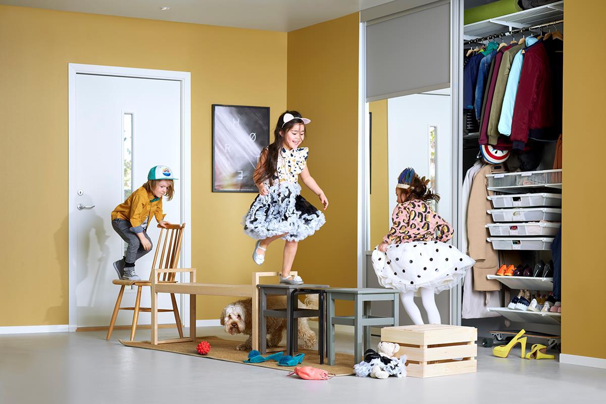 Moderne Ryddigere barnerom med smart oppbevaring - Obs BYGG: Billig RB-26