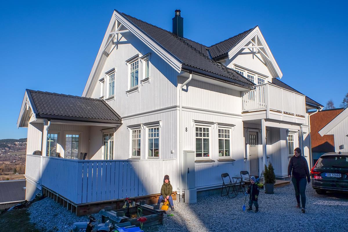 e27a5a22 Slik maler du huset hvitt - Obs BYGG: Billig byggevarehandel