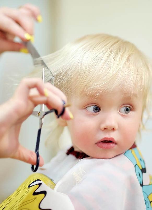 Slik klipper du barnas hår med hårklipper Obs: Smarthandel