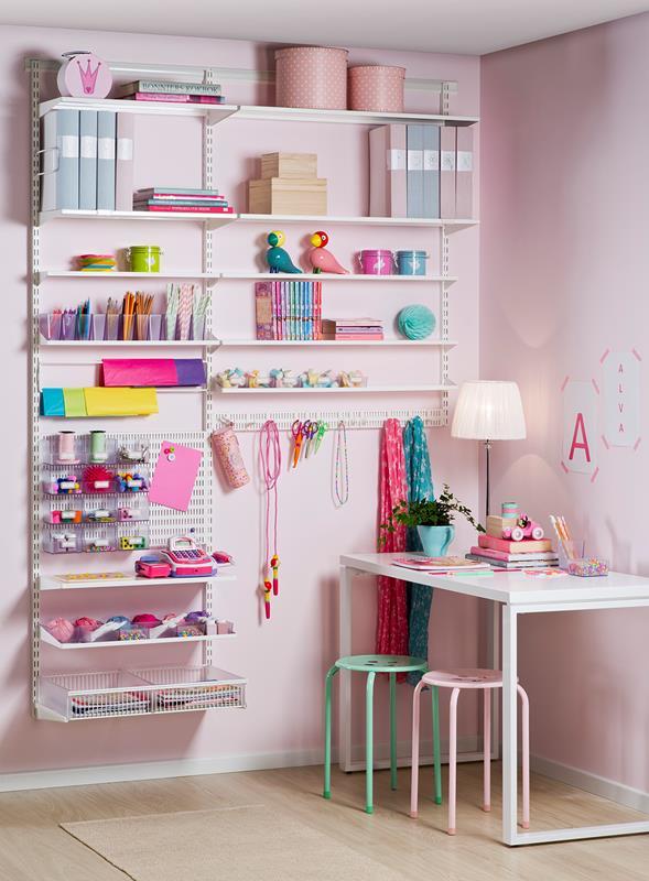 Modernistisk Slik holder du orden på barnerommet - Obs: Smarthandel VH-66