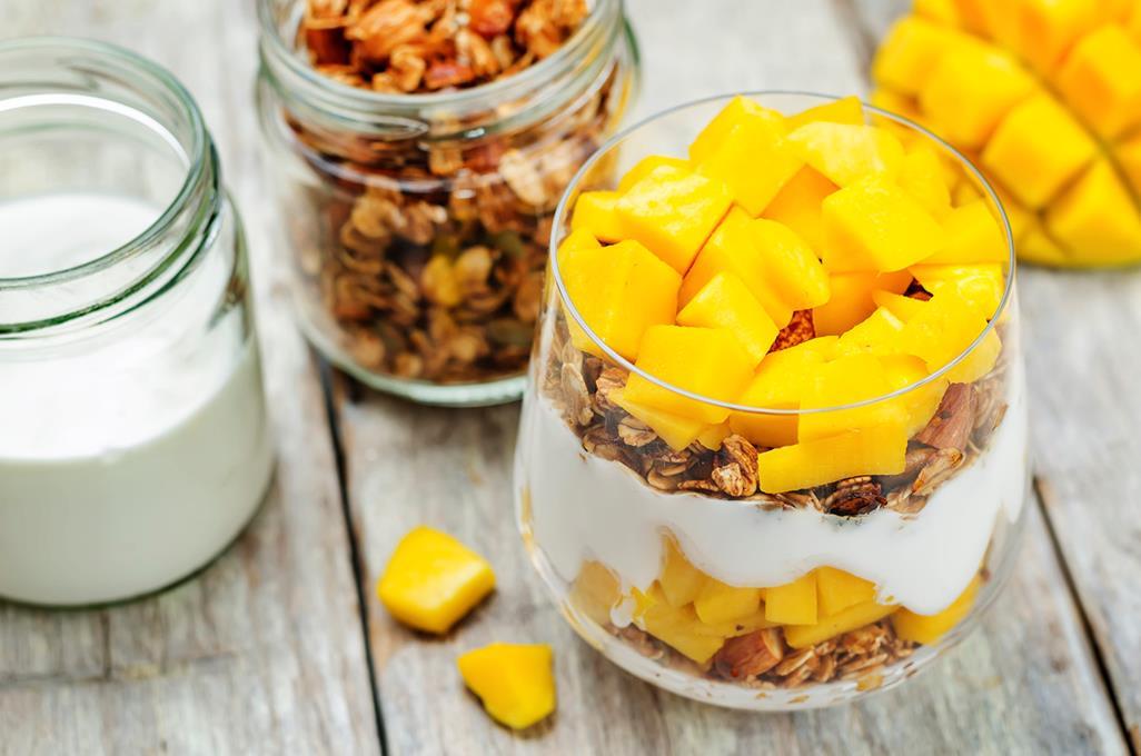 hvordan dele mango