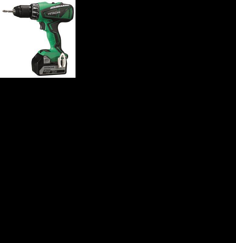 Hitachi DS18DBEL drill Hitachi