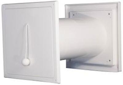 Flexit friskluftventil 09160 100 K Hvit 100 mm Flexit