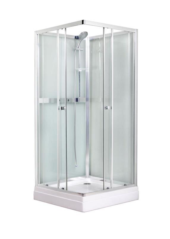 Dusjkabinett eller dusjhjørne? Obs BYGG