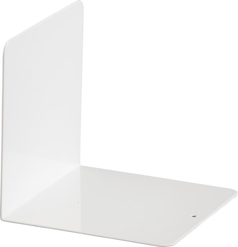 Elfa bokstøtte hvit 130 x 137 x 130 mm ELFA